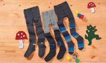 LUPILU Kleinkinder-Plüschthermostrumpfhose für Jungen