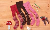 LUPILU Kleinkinder-Plüschthermostrumpfhose für Mädchen