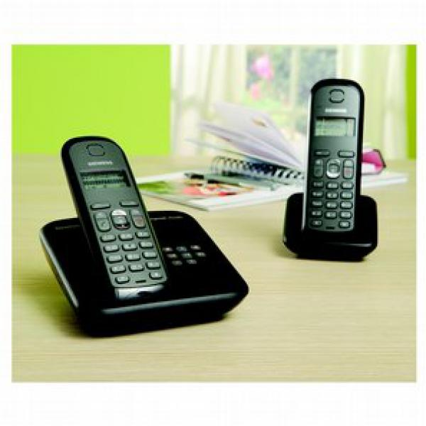 siemens schnurloses telefon gigaset as285 duo von. Black Bedroom Furniture Sets. Home Design Ideas