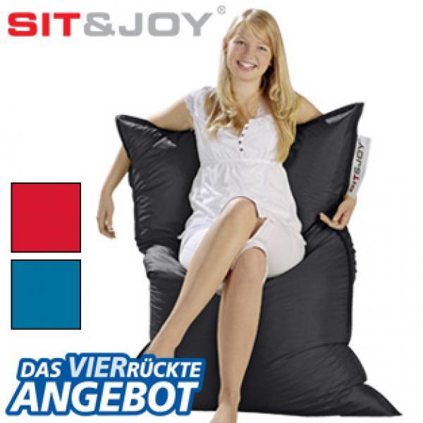sitzsack von real ansehen. Black Bedroom Furniture Sets. Home Design Ideas