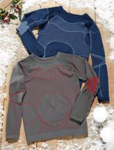 Kinder-Ski-Funktionsshirt