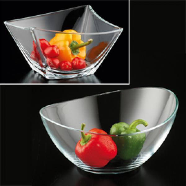 Obst salatschale aus glas von aldi nord ansehen for Glas handtuchhalter aldi