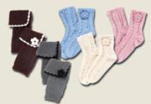 Stiefel-Stulpen / Home-Socks