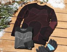 Damen-Wintersport-Funktionsshirt