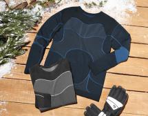 Herren-Wintersport-Funktionsshirt