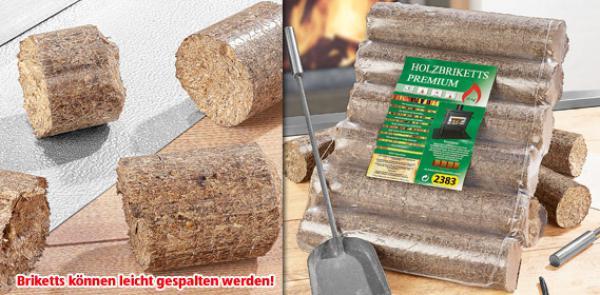 Holzbriketts 10 Kg : holzbriketts premium 10 kg von aldi s d ansehen ~ Frokenaadalensverden.com Haus und Dekorationen