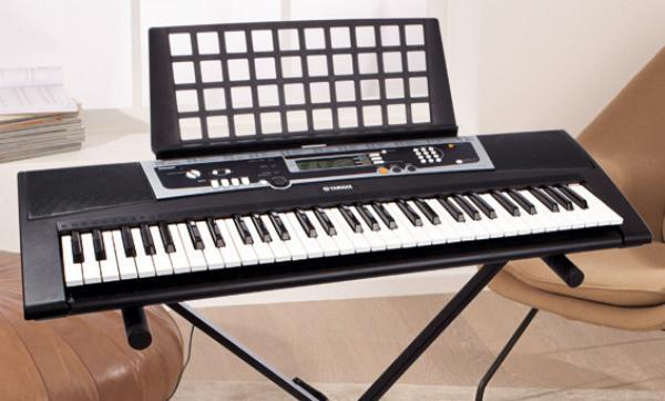 yamaha digitales keyboard ypt210 von lidl ansehen. Black Bedroom Furniture Sets. Home Design Ideas