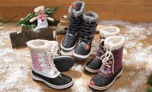 Kinder-Mädchen-Winterstiefel