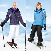 Funktioneller Skianzug