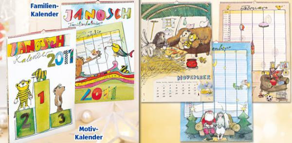 janosch kalender 2011 von aldi s d ansehen. Black Bedroom Furniture Sets. Home Design Ideas