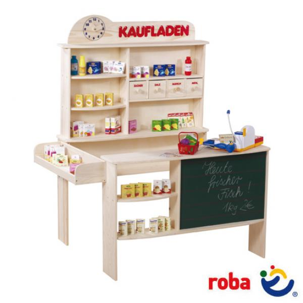 Roba Kaufladen Holz Mit Zubehor