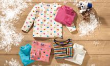 LUPILU 2 Kleinkinder-Langarmshirts für Mädchen