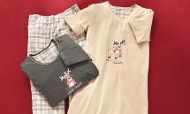 JOLINESSE Damen-Sleepshirt/-Pyjama