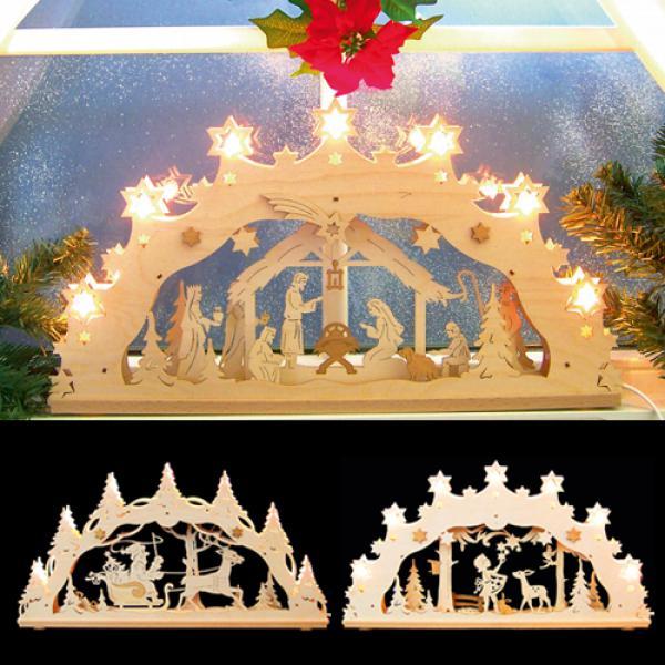 3d weihnachtslichterbogen von aldi nord ansehen. Black Bedroom Furniture Sets. Home Design Ideas