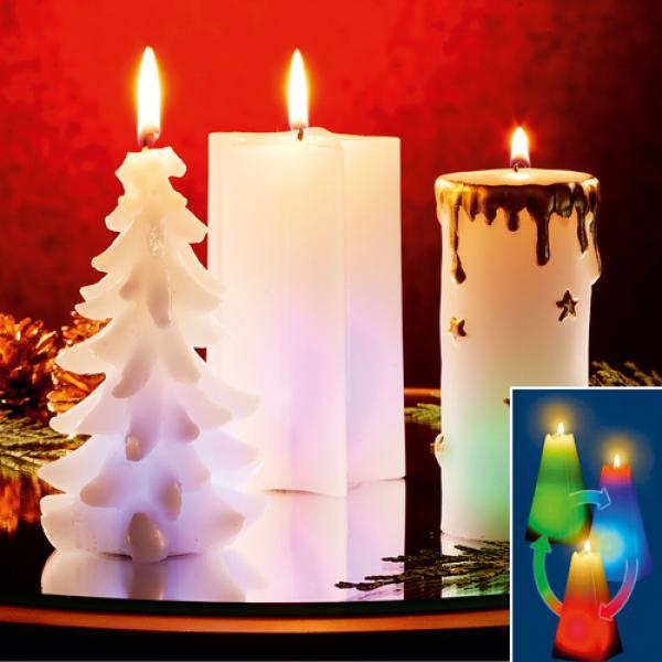 regenbogenkerze weihnachten von aldi nord ansehen. Black Bedroom Furniture Sets. Home Design Ideas
