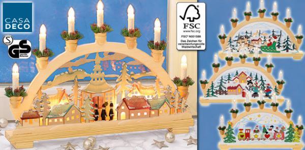 casa deco weihnachts lichterbogen von aldi s d ansehen. Black Bedroom Furniture Sets. Home Design Ideas