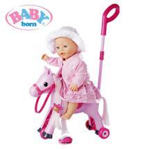 Baby Born 2-in-1-Schaukelpferd und Dreirad