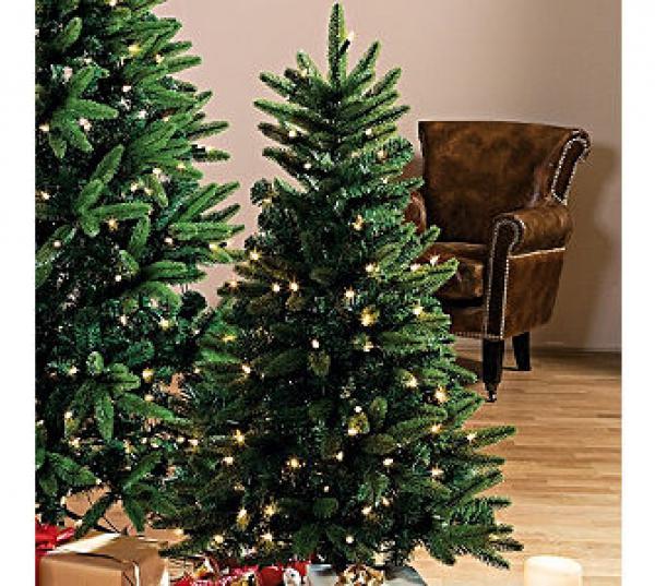 beleuchteter deko tannenbaum klein von ansehen. Black Bedroom Furniture Sets. Home Design Ideas