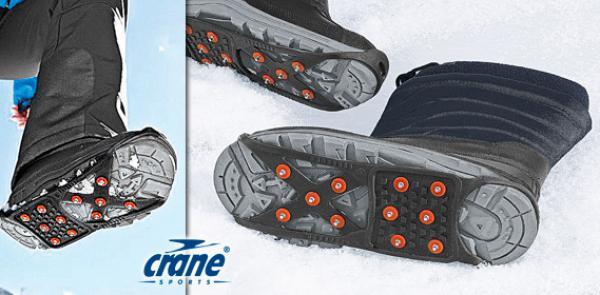 Schnee- und Eisspikes für Schuhe