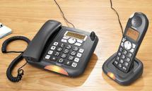 SILVERCREST Großtasten-Komforttelefon