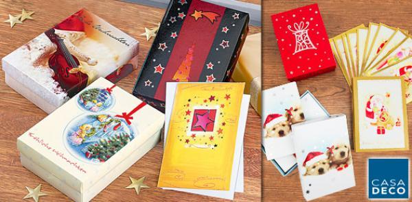 Casa deco weihnachts kartenbox von aldi s d ansehen - Aldi weihnachtskarten ...