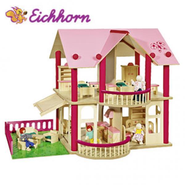 Holz Puppenhaus Zum Aufklappen ~ Holz Puppenhaus von real, ansehen!