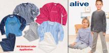 ALIVE® Kinder- Nicki-Nachtwäsche