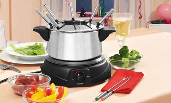 silvercrest elektrisches fondueset 11 teilig von lidl ansehen. Black Bedroom Furniture Sets. Home Design Ideas