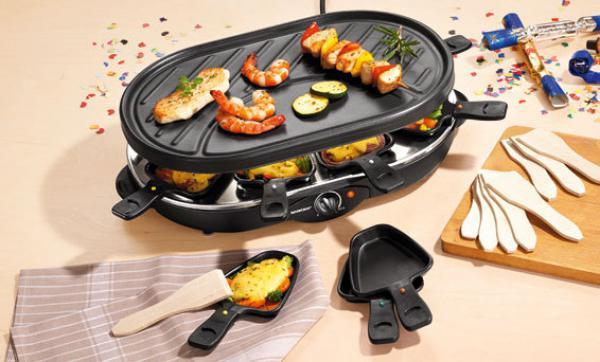 silvercrest raclette grill von lidl ansehen. Black Bedroom Furniture Sets. Home Design Ideas
