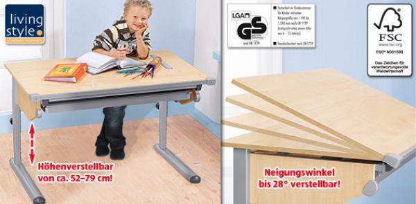 Living Style Kinder Schreibtisch Von Aldi Süd Ansehen Discountode