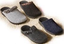 Hausschuhe mit Wörishofer Fußbett