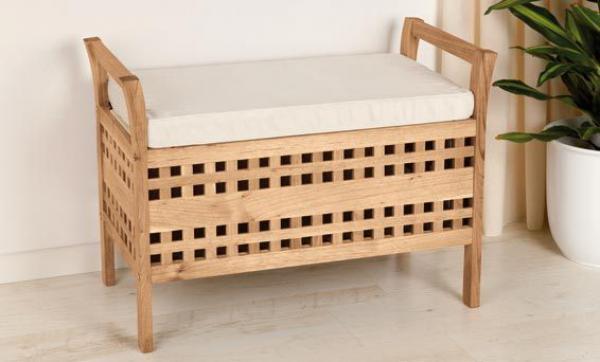 livarno sitzbank walnuss massiv von lidl ansehen. Black Bedroom Furniture Sets. Home Design Ideas