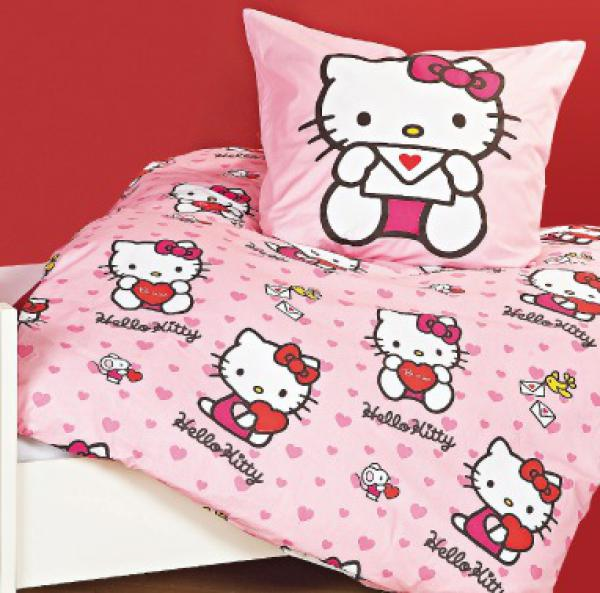 hello kitty bettw sche garnitur von penny markt ansehen. Black Bedroom Furniture Sets. Home Design Ideas