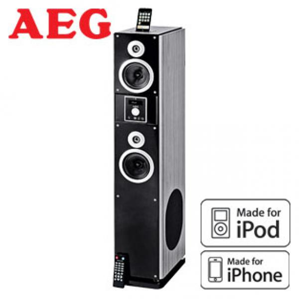 2 in 1 soundtower ims 4442 mit radio und docking station f r iphone ipod von real ansehen. Black Bedroom Furniture Sets. Home Design Ideas