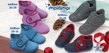 IMPIDIMPI® Kleinkinder-Hausschuhe