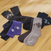 Woll-Wintersocken