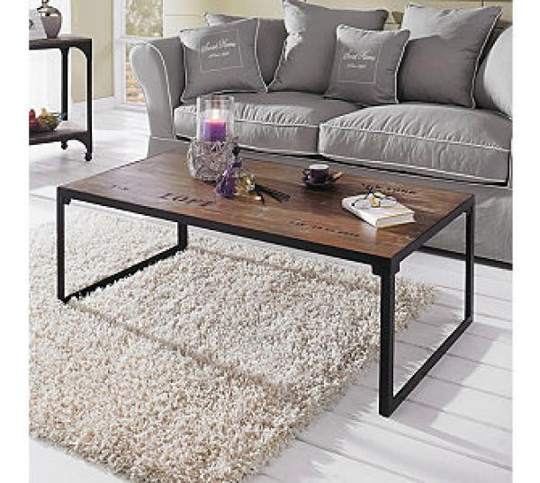 couchtisch mit metallgestell couchtisch holz mit. Black Bedroom Furniture Sets. Home Design Ideas