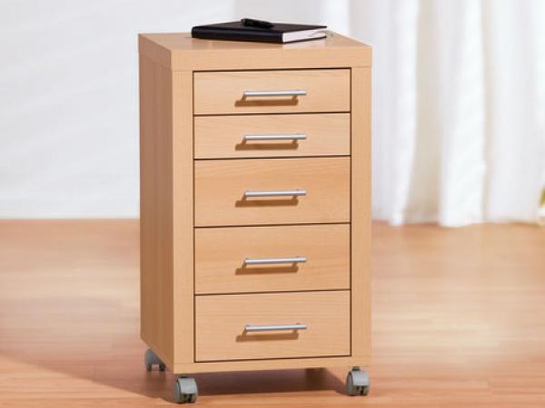 united office rollcontainer mit 5 schubladen von lidl ansehen. Black Bedroom Furniture Sets. Home Design Ideas