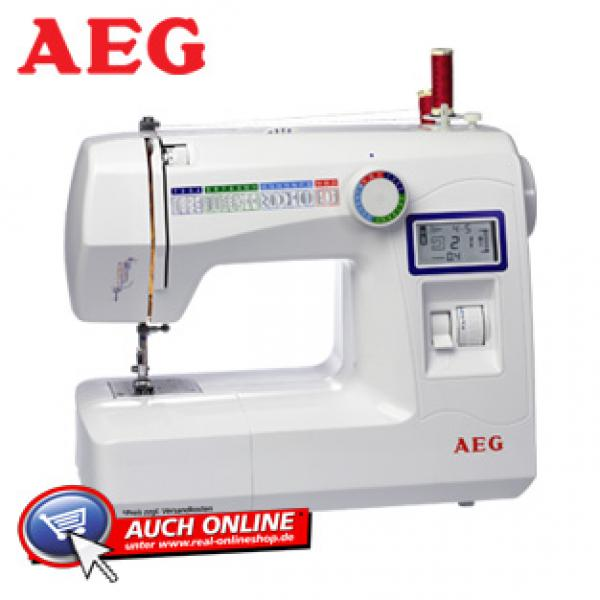 Nähmaschine AEG 227 von real, ansehen! ~ Nähmaschine Aeg