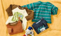 LUPILU 2 Baby-Shirts für Jungen