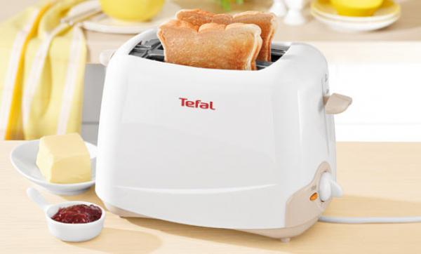 tefal toaster principio tt 1100 wei von lidl ansehen. Black Bedroom Furniture Sets. Home Design Ideas