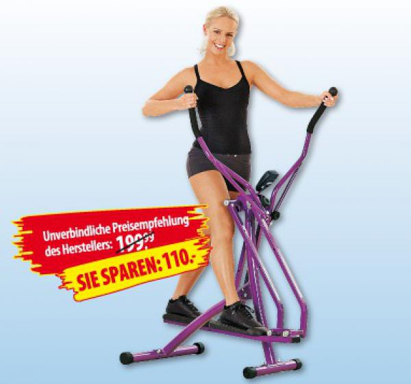 nordic walking crosstrainer von penny markt ansehen. Black Bedroom Furniture Sets. Home Design Ideas