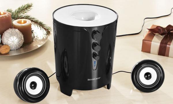 silvercrest 2 1 lautsprechersystem von lidl ansehen. Black Bedroom Furniture Sets. Home Design Ideas