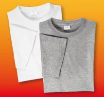 2er-Pack Herren-Basic-T-Shirts