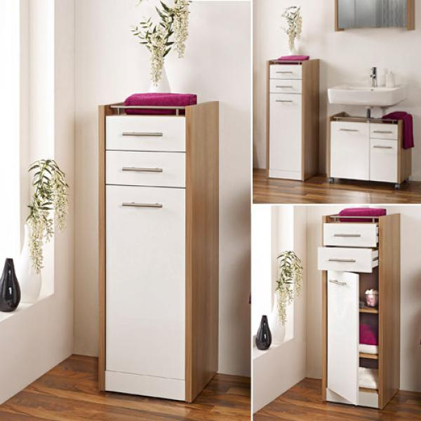 badezimmer seitenschrank von aldi nord ansehen. Black Bedroom Furniture Sets. Home Design Ideas
