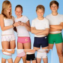 Knaben-/Mädchen- Boxershorts/Pants