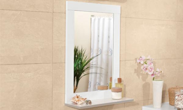 bekannte badspiegel mit ablage wei zy35 kyushucon. Black Bedroom Furniture Sets. Home Design Ideas