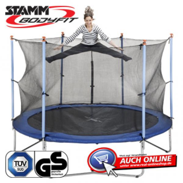 trampolin von real ansehen. Black Bedroom Furniture Sets. Home Design Ideas