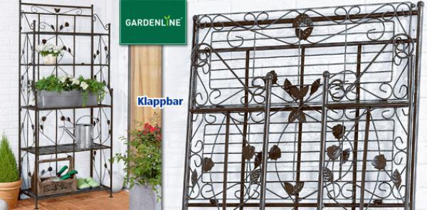 gardenline gartenregal von aldi s d ansehen. Black Bedroom Furniture Sets. Home Design Ideas
