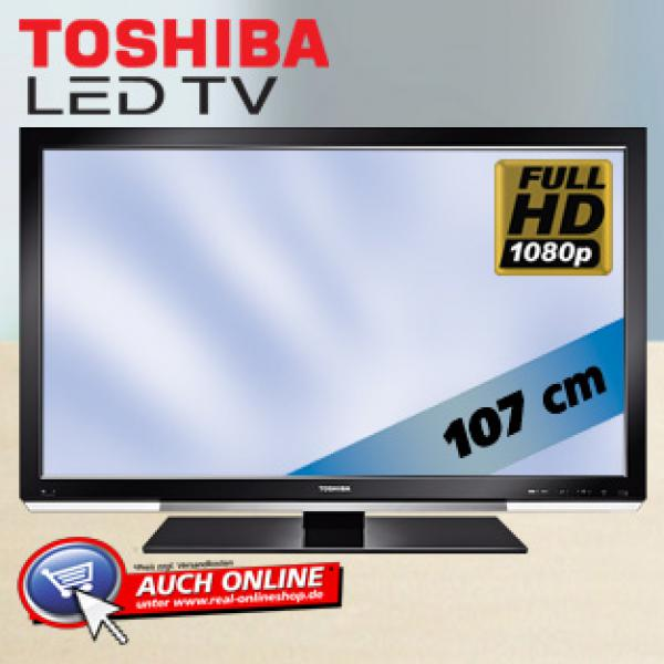 42 led fullhd lcd tv 107 cm von real ansehen. Black Bedroom Furniture Sets. Home Design Ideas